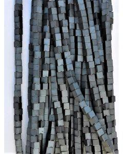 16668 - Mat Hæmatit  2x2x2mm
